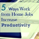 5 Ways Working from Home can Increase your Productivity