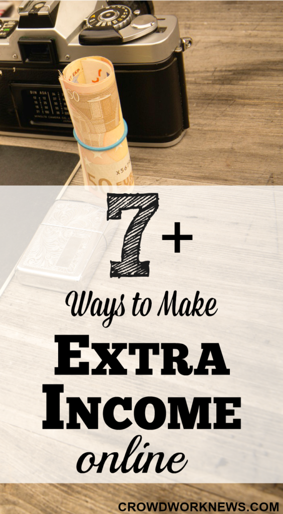7+ ways to make extra income online
