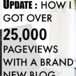 Month Two Traffic Update: How I Got Over 25,000 Page Views With A New Blog
