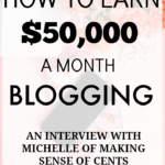 How to Earn $50,000 A Month Blogging