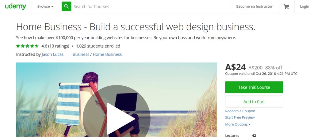 Home Business- Build a Successful Website Design Business