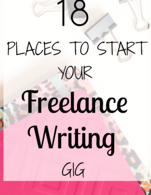 18 Places To Find Freelance Writing Jobs