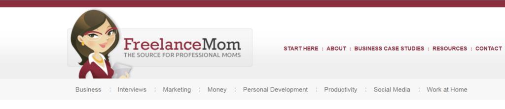 FreelanceMom Homescreen
