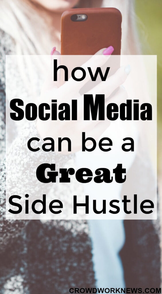 social media side hustle