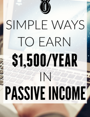 simple ways to earn passive income