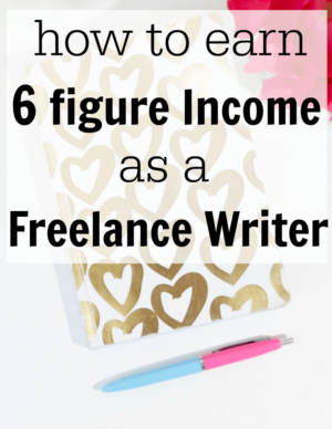 become a freelance writer and make money