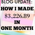 How I Made $3,226.89 in 5th Month of Blogging