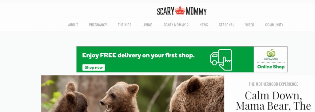 ScaryMommy Homescreen
