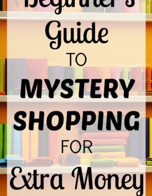 beginner's guide to mystery shopping