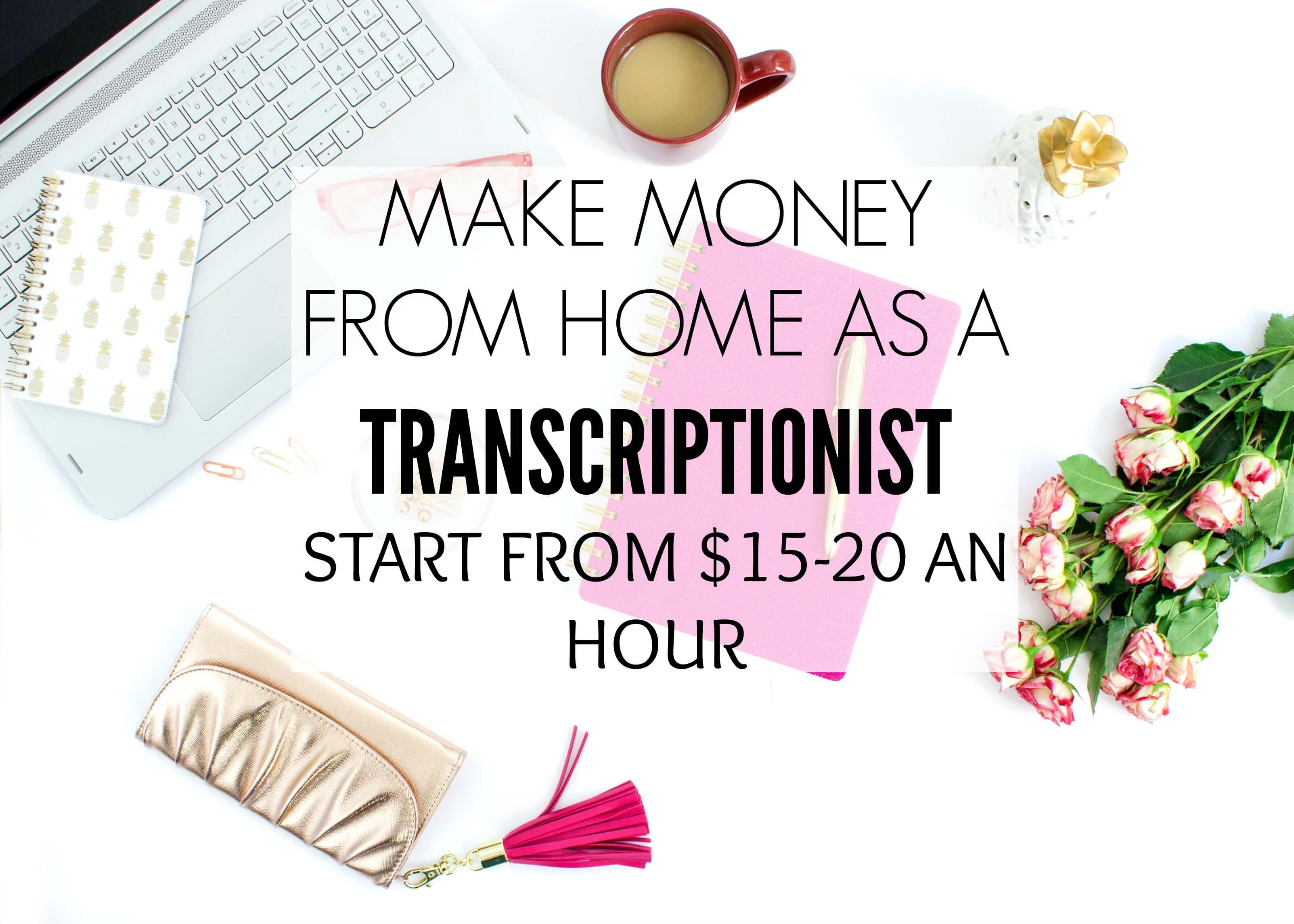 Make money from home as a transcriptionist crowd work news - How to earn money in home design ...