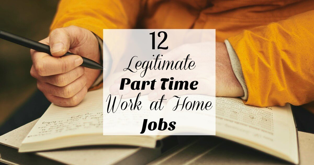 legitimate part time work from home 12 legitimate part time online jobs 1249