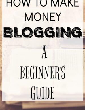 make money blogging beginners guide