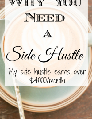 why you need a side hustle