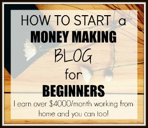 how to start a money-making blog for beginners