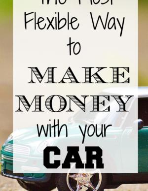 make extra money as uber driver