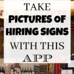 Job Spotter Review: Get Paid To Take Pictures of Hiring Signs with This App