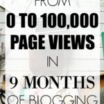 How I Went from 0 to 100,000 Page Views in 9 Months of Blogging