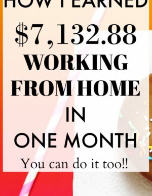 earned $7132.88 working from home in one month