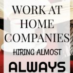 13+ Work-at-Home Companies hiring Always (Almost)
