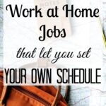 5+ Flexible Work-at-Home Jobs That Let You Set Your Own Schedule