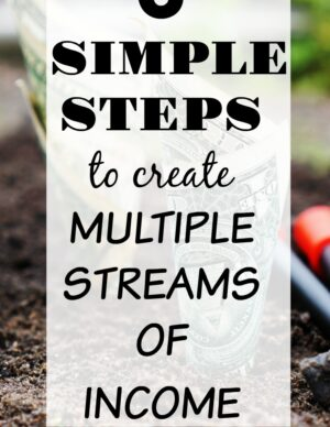 6 Simple Steps To Create Multiple Streams Of Income