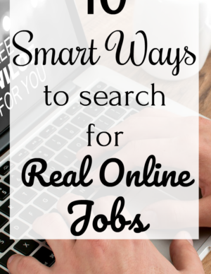 real online jobs search