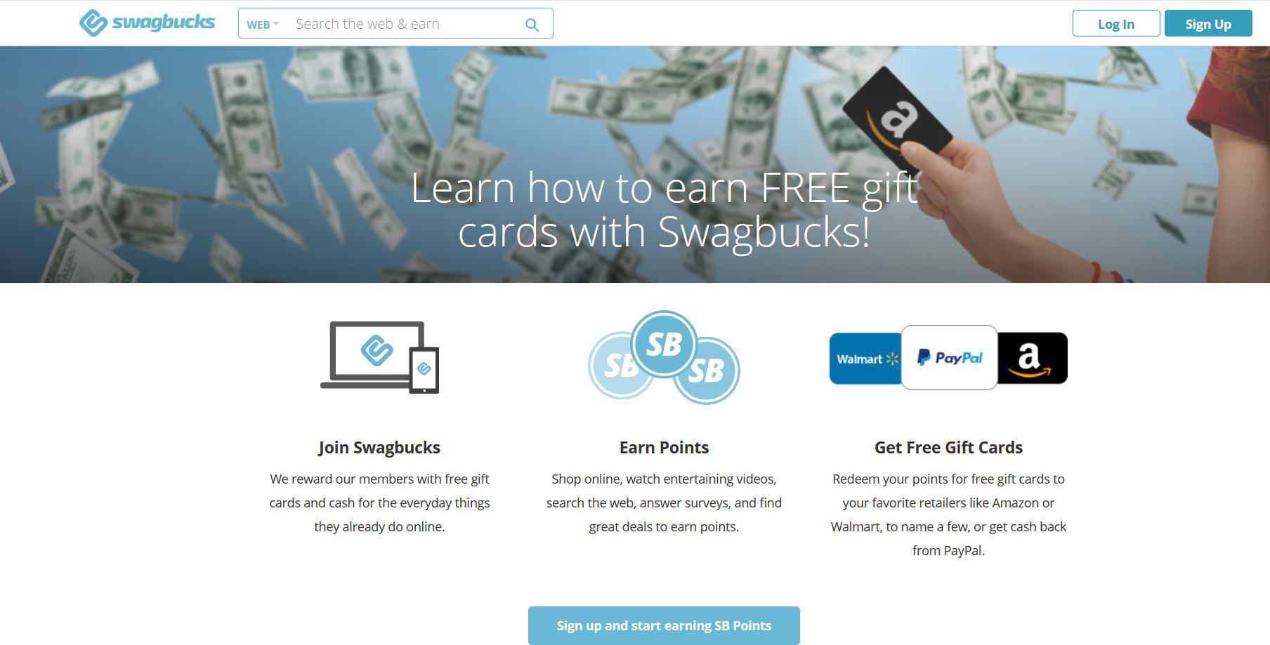swagbucks review - wie es funktioniert