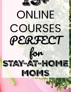 online courses for stay at home moms