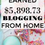 How I Earned $5,898.73 Blogging from Home in August