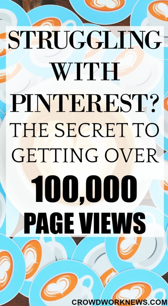 The Secret to Getting Over 100,000 Page Views