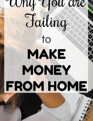 failing to make money