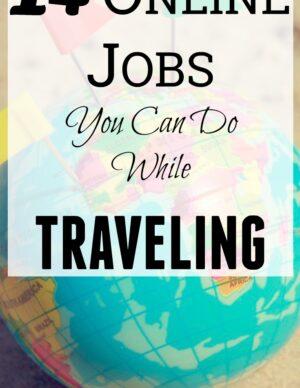 online traveling jobs