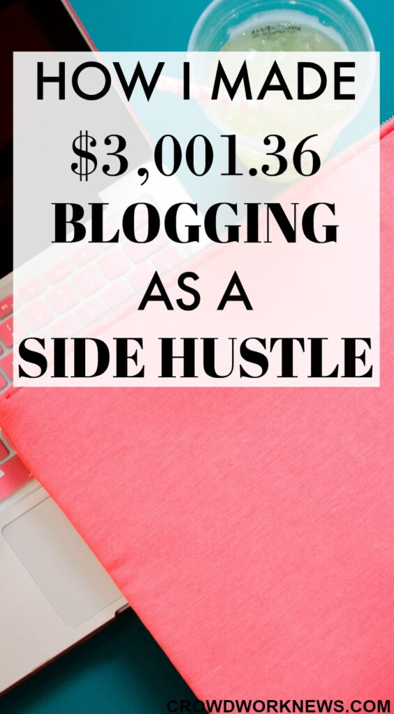 blog side hustle