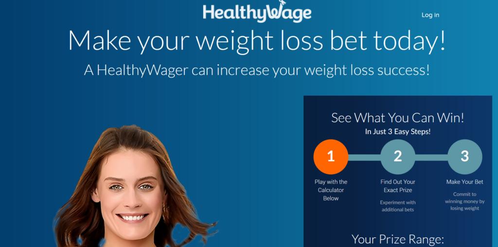HealthyWage Homescreen