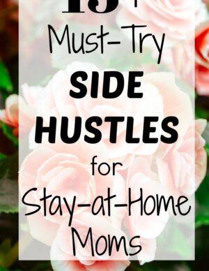 flexible side hustle ideas stay home moms