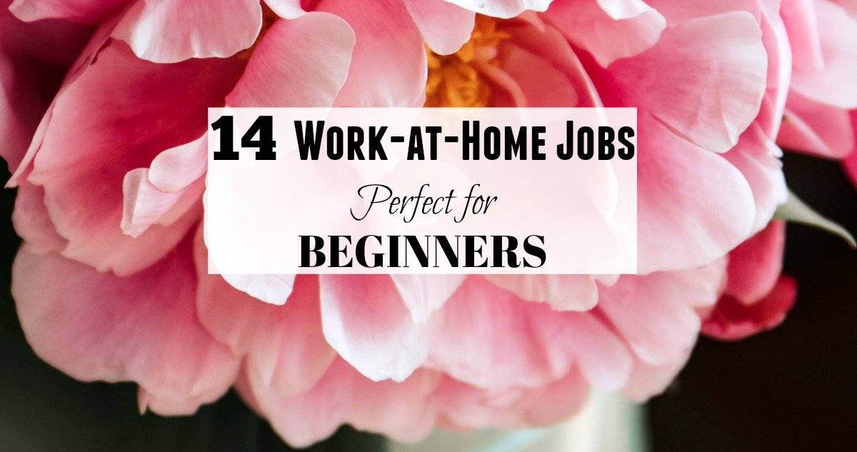 14 entry level work at home jobs for beginners no experience needed