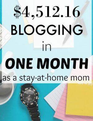part-time blogger
