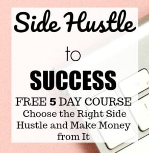 side hustle to success