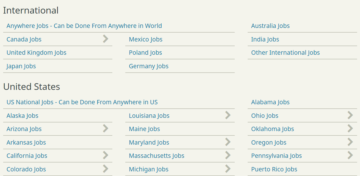 FlexJobs - Job Search by Country