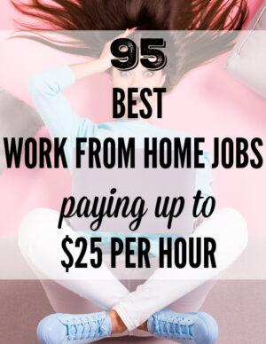 95 legitimate work from home jobs