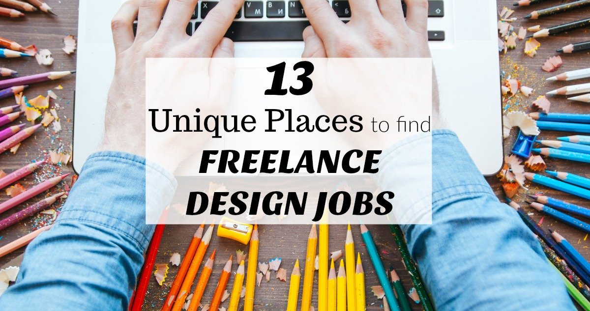 13 unique places to find freelance design jobs