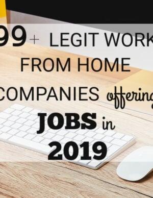 legit work-from-home jobs