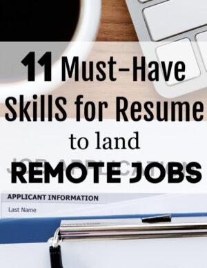 skills for résumé
