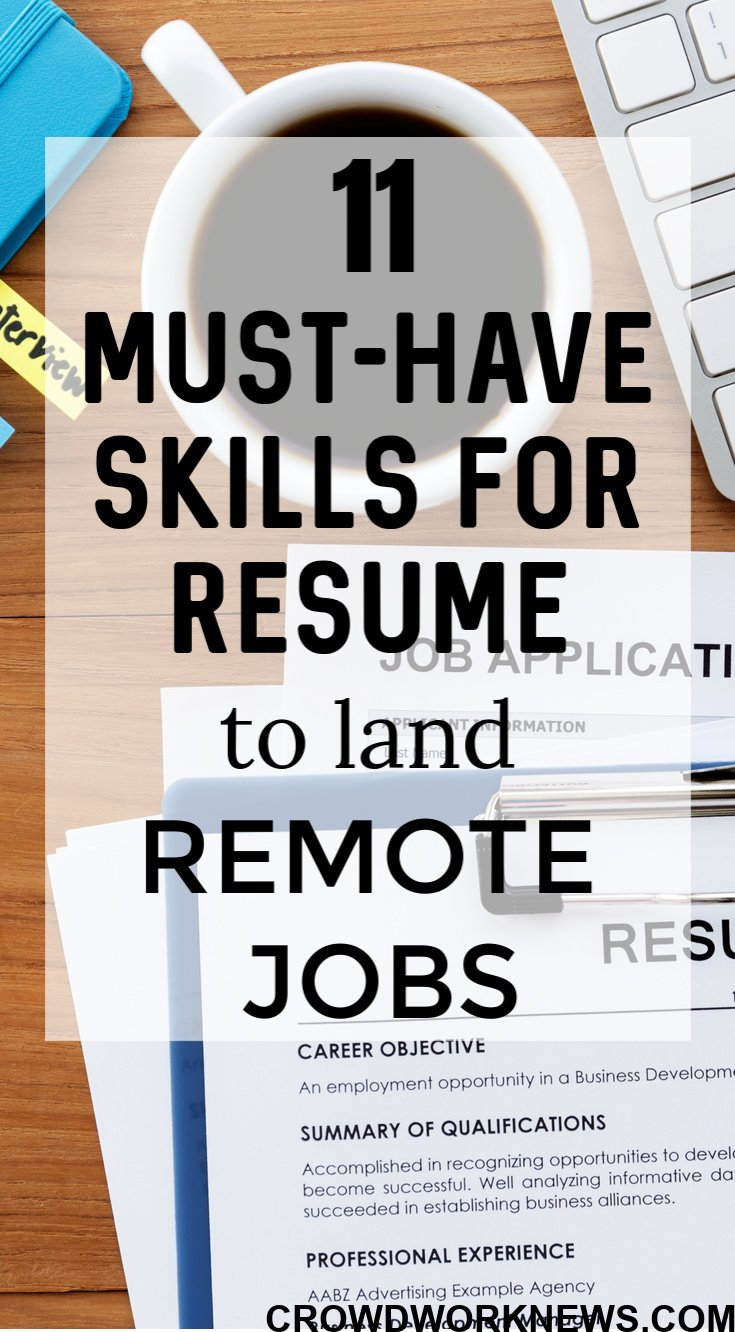 top skills for résumé