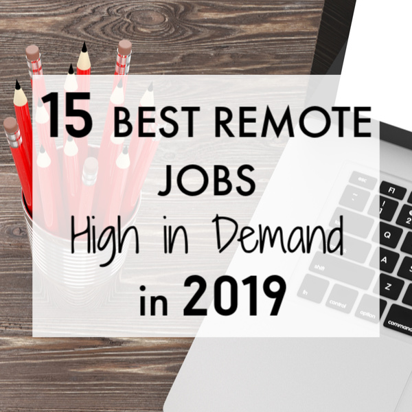 best remote jobs high in demand