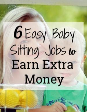 6 easy babysitting jobs to earn extra money