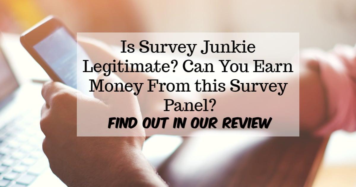 Survey Junkie Review 2019 - Legit Survey Panel or Scam? Find