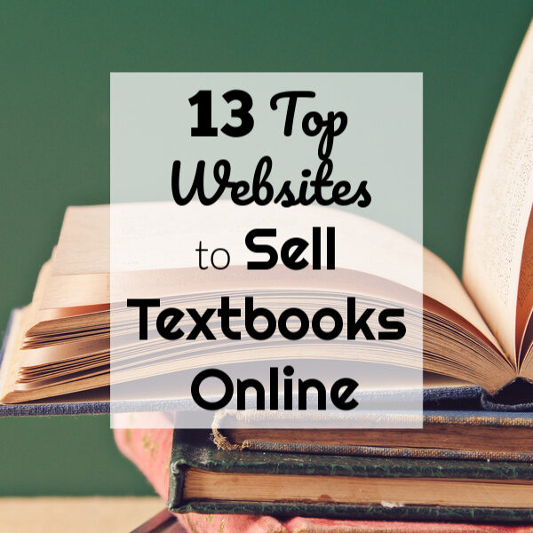 13 Top Websites to Sell Textbooks Online