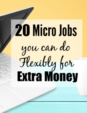 20 micro jobs for extra money