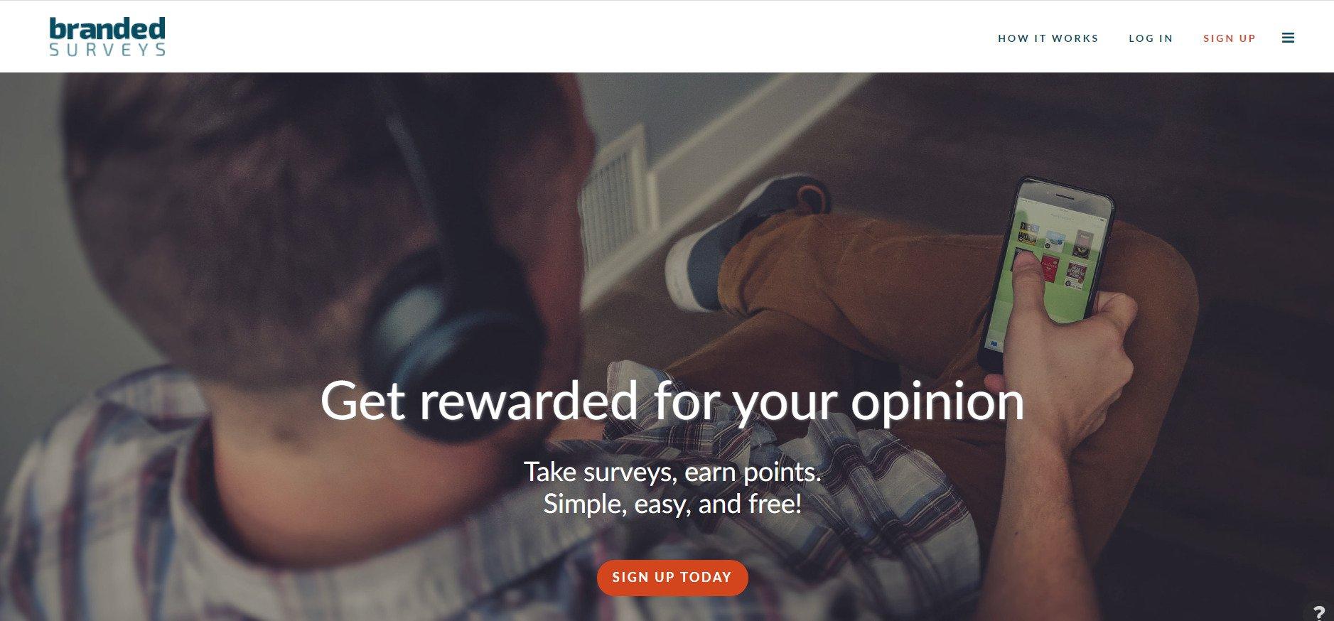 branded surveys signup
